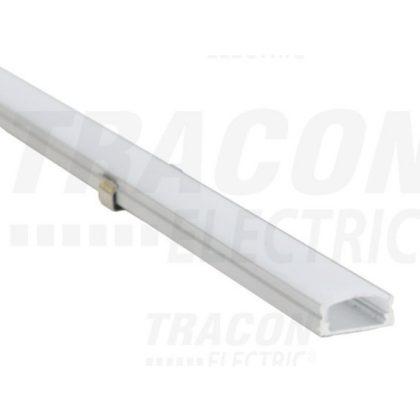 TRACON LEDSZPS10 Alumínium profil LED szalagokhoz, lapos W=10mm, 5 db/csomag