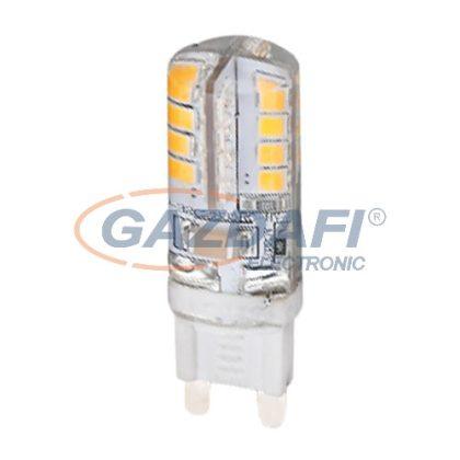 TRACON LG9S3W Szilikon házas LED fényforrás 230VAC, 3W, 2700K, G9, 180lm, 360°, EEI=A+