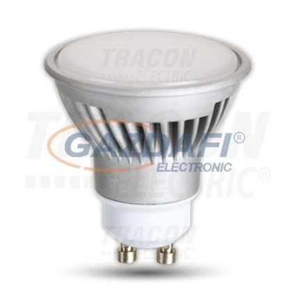 TRACON LGU107CW Power LED fényforrás 230VAC, 7W, 6500K, GU10, 500lm, 40°