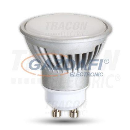 TRACON LGU107WW Power LED fényforrás 230VAC, 7W, 2700K, GU10, 450lm, 40°