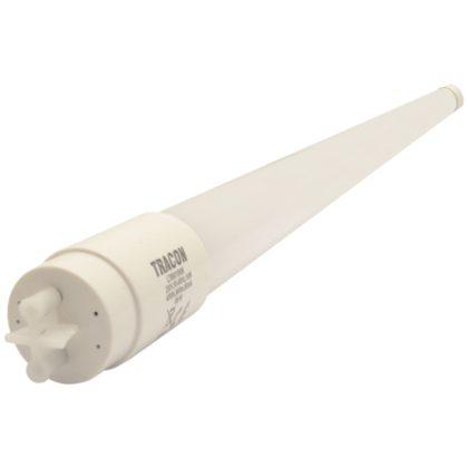 TRACON LT8G15022CW Üveg LED világító cső, opál burás230 V, 50 Hz, G13, 22 W, 1900 lm, 6500 K, 200°, EEI=A+, 25 db/csomag