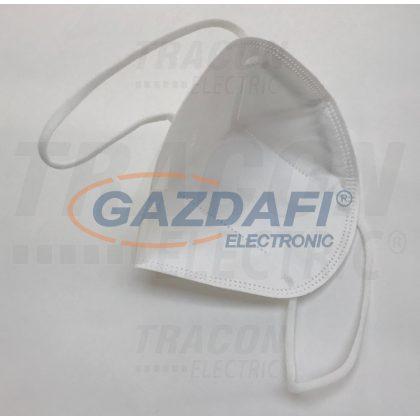 TRACON MASK2 Eldobható maszk, fehér, FFP2