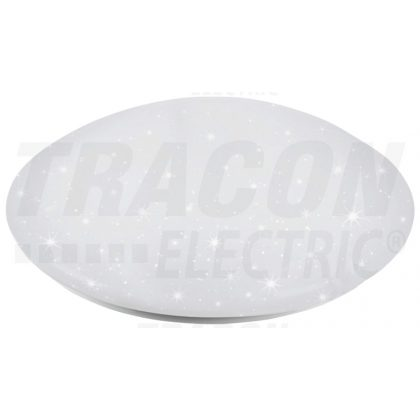 TRACON MFR60W Csillagos égbolt effektes LEDmennyezeti lámpa, vezérelhető230 VAC, 60W, 4200lm, 3000/4000/6500K, 120°, IP20, EEI=A