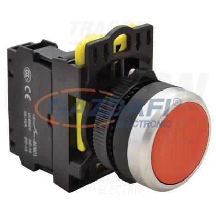TRACON NYG3-R Egyszerű nyomógomb, piros 1×NC, 5A/230V AC-15, IP65
