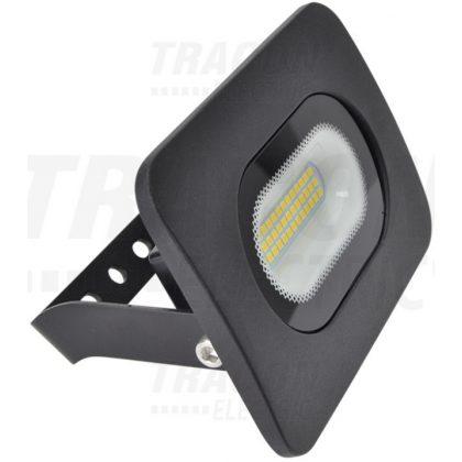 TRACON RSMDL20H LED fényvető beépített bekötődobozzal (kábel nélkül),fekete 220-240V AC, 20W, 4000K, IP65, 1500lm, EEI=A
