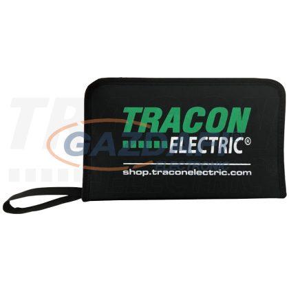 TRACON SDSETOF8 Csavarhúzó 8as szett, 1000V-raszig., CrV, SLPH, tartóban SL 2.5, 4, 5.5, 6.5, PH0-3, AC 1000V