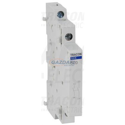 TRACON SHK-S20 Segédérintkező SHK kontaktorhoz 0,5 Mod, 2NO, AC12 (230V) 5A