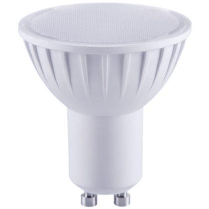 TRACON SMDGU105CW Műanyag házas SMD LED spot fényforrás 230V, 50 Hz, GU10, 5W, 320 lm, 6000 K, 120°, EEI=A+