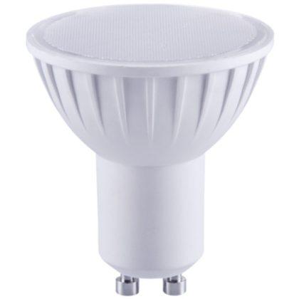 TRACON SMDGU107NW Műanyag házas SMD LED spot fényforrás 230V, 50 Hz, GU10, 7W, 450 lm, 4000 K, 120°, EEI=A+