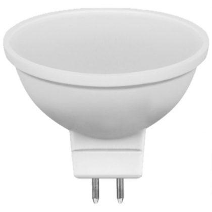 TRACON SMDMR165CW Műanyag házas SMD LED spot fényforrás 12V AC/DC, MR16, 5W, 300 lm, 6500 K, 100°, EEI=A+