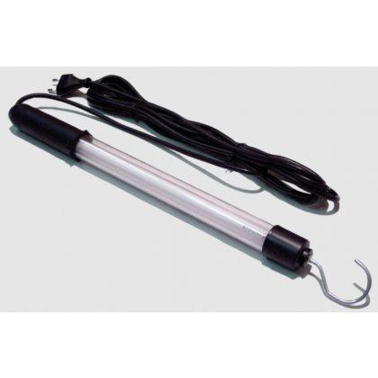 TRACON STL-08 Hordozható LED-es szerelőlámpa, II. év.o. 230V, 50Hz, 4W, 5m, 2×0,75mm2, H05RN, EEI=A+