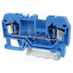 TRACON TSKC4-K Nullavezető ipari sorozatkapocs, rugós, sínre, kék 800V 32A 0.08-4 mm2 2P