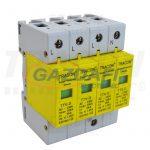 TRACON TTV-D45 Túlfeszültségvédő készülék, 2.-es típus 5kA, 4P