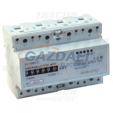 TRACON TVO-F3M2 Elektromech. fogyasztásmérő közvetlen méréshez, háromfázisú