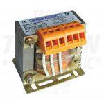 TRACON TVTRB-60-A Biztonsági, egyfázisú kistranszformátor 230-400V / 6-12-24V, max.60VA