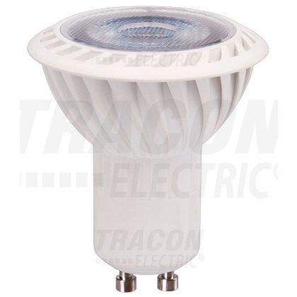TRACON VCOB5CW LED spot fényforrás 230VAC, 5 W, 6500 K, GU10, 370 lm, 100°, EEI=A+