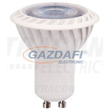 TRACON VCOB5NW LED spot fényforrás 230VAC, 5 W, 4000 K, GU10, 360 lm, 100°, EEI=A+