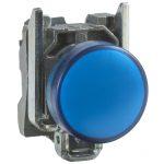 SCHNEIDER XB4BVM6 LED-es jelzőlámpa, kék, 230V