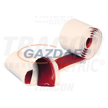 TRACON ZSSZVM-1 Térkitöltő massza szalag,piros 1,5m×25mm×0,8mm
