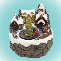 Home karácsonyi dekoráció
