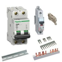 Circuit breakers and accessories