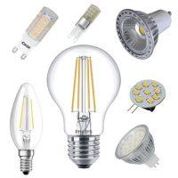 LED fényforrások-izzók