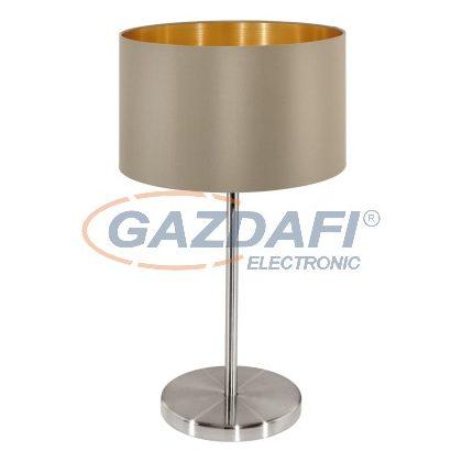 EGLO 31629 Text. asztali E27 60W szübarna Maserlo