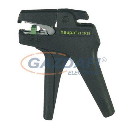 HAUPA 211928 Automatikus kábelcsupaszító fogó 0,08-2,5 mm²