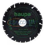 HAUPA 230727 Spezial gyémánt vágókorong fémhez, 115mm