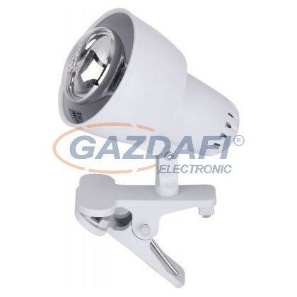 RÁBALUX 4356 Clip csiptetős spot lámpaE14 40W fehér fényforrás nélkül 230V     A++ -> E